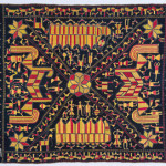 Phulkari sainchi, Punjab, early 20th century, 139 x 224 cm