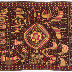 Phulkari sainchi, Punjab, early 20th century, 123 x 218 cm