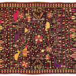 Phulkari sainchi, Punjab, early 20th century, 134 x 232 cm