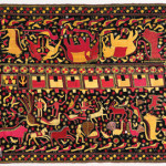 Phulkari sainchi, Punjab, early 20th century, 140 x 224 cm