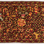 Phulkari sainchi, Punjab, early 20th century, 123 x 217 cm