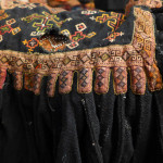 Georgian folk costume detail in private collection