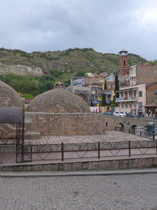 Domes of thermal sulphur Bath Houses, Tbilisi