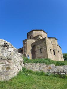 7th-century Jvari monastery, Mtskheta, Georgia