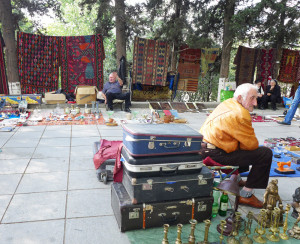 Dry Bridge Antiques Market, Tbilisi