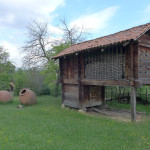 Woven walls, Open Air Ethnographic Museum, Tbilisi