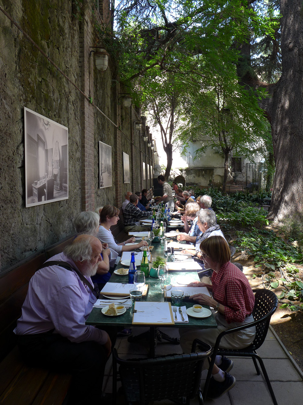 Lunch at Cafe Littera, Tbilisi