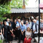 HALI Tour group 2016 at the Silk Road Hotel, Yerevan