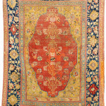 Lot 7119 Transylvanian double-niche rug, west Anatolia, 17th century. Henrys Auktionshaus, 11 June, estimate €3,000.