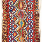 Lot 7126 Konya kilim, 18th century. Henrys Auktionshaus, 11 june, estimate NR.