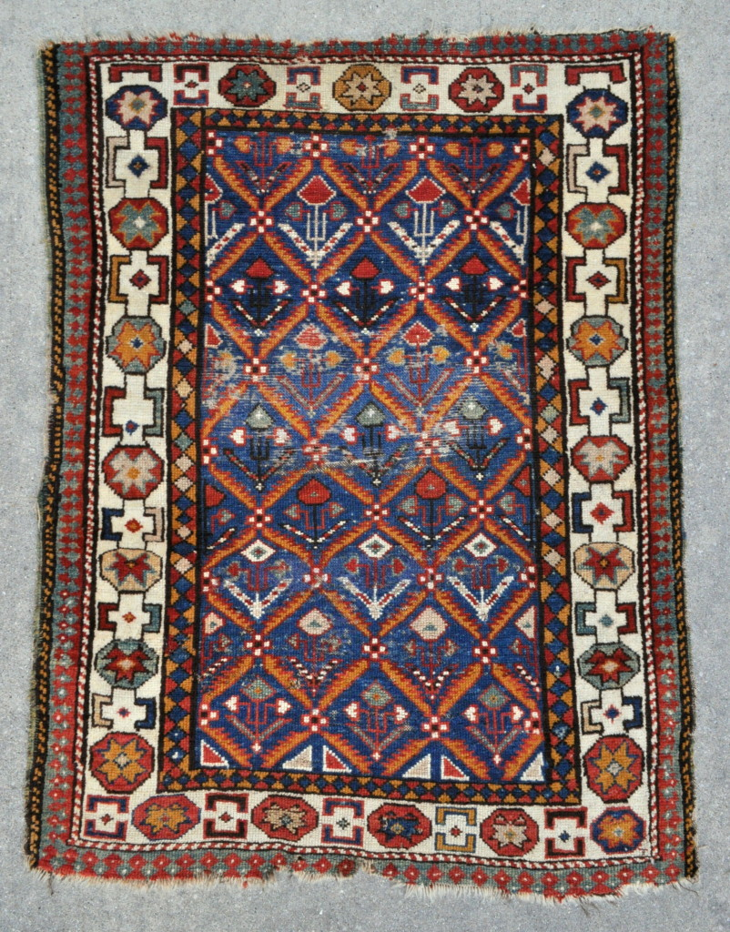 Early Caucasian rug (1)