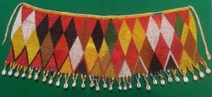 Beaded 'cache-sexe', (apron), Cameroon, Kirdi tribe, mid-20th century. Joss Graham