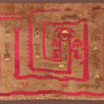 Alpaca wool and cotton tapestry depicting a fish trap, Chimu Culture, Lambayeque, Northern Coast Peru, circa 400 – 900 AD. 90 x 114 cm. Kapil Jariwala