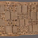 Extremely finely woven Shoowa fibre panel, DRC. Marcuson & Hall