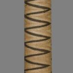 Woven beer straw holder. Rwanda or Uganda. Marcuson & Hall