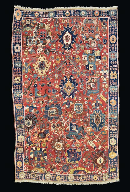 Lot 25 A North West Persian Kelleh Late 18th Century 12 000 18 Oriental Rugs And Carpets King Street 10 16