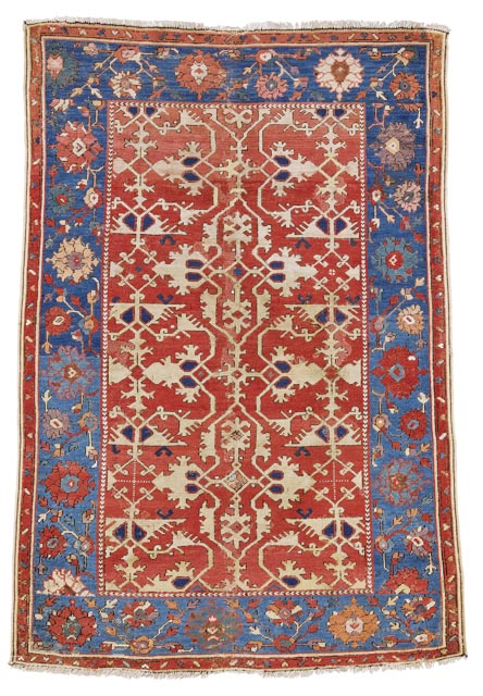 Ushak Lotto-rug, west-anatolia-late-16th/early-17th-century