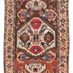 Kurdish carpet, Kurdistan, ca. 1800, 8ft. 2in. x 5ft. 1in. Lot 192, Austrian Auction Company, 19th November, estimate: € 8.000 – 12.000