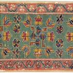 Swedish textile from Skåne, circa 1800. Published: P.Willborg, D.Black & C.Loveless, Flatweaves from Fjord and Forest: Scandinavian Tapestries of the 18th and 19th century, Pl.4.