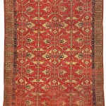 Lotto rug, West Anatolia, 16th century.