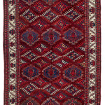 Eagle Group II Main Carpet, Central Asia, South West Turkestan, Mid 19th century. Rippon Boswell, Wiesbaden, 3 December, lot 135, 331 x 188 cm, estimate €25,000.00