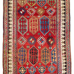 Borjalou Kazak, South West Caucasus, Second half 19th century. Rippon Boswell, Wiesbaden, 3 December, lot 175, 226 x 145 cm estimate €9,500.00