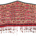 Embroidered Tekke Asmalyk, Central Asia, West Turkestan, first half 19th century. Rippon Boswell, Wiesbaden, 3 December, lot 79, 60 x 138 cm, estimate €15,000.00