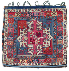 Shahsavan Bag Face, North West Persia, Azerbaijan, first half 19th century. Rippon Boswell, Wiesbaden, 3 December, lot 161, 57 x 59 cm estimate €6,500.00