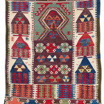 Sivrihisar Niche Kilim, Western Central Anatolia, mid 19th century. Rippon Boswell, Wiesbaden, 3 December, lot 91, 150 x 103 cm, estimate €4,500.00