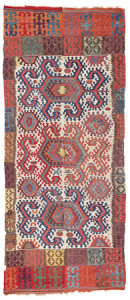 Konya Kilim, Central Anatolia, West Turkestan, ca. 1800. Rippon Boswell, Wiesbaden, 3 December, lot 96, 364 x 157 cm, estimate €14,500.00