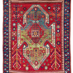 Lot 0041 Mid 19th century, 215 x 171 cm, South West Caucasus. Sold For €11,000 hammer. Estimate: €9,000-€18,000