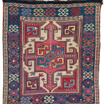 Lot 0180 First half 19th century, 55 x 60 cm, South East Caucasus, Moghan region. Sold For €9,000 hammer. Estimate: €4,500-€9,000