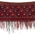 Lot 0001 First half 19th century, 44 x 103 cm, Central Asia, West Turkestan. Sold For €4,600 hammer. Estimate: €1,000-€2,000