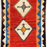 Luri gabbeh, Fars, South Persia, 19th century.
