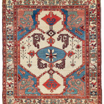 Lot 0065 Mid 19th century, 162 x 143 cm, North West Persia, Azerbaijan. Sold For €9,500 hammer. Estimate: €5,000-€10,000