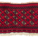 Lot 0149 Ca. 1800, 60 x 110 cm, Central Asia, West Turkestan. Sold For €26,000 hammer. Estimate: €7,500-€15,000