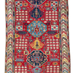 Lot 0155 First half 19th century, 288 x 135 cm, South East Caucasus, Azerbaijan. Sold for €12,000 hammer. Estimate: €6,500-€13,000