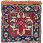 Lot 0181 First half 19th century, 57 x 55 cm (118 x 55 cm), South East Caucasus, Moghan region. Sold €13,000 hammer. Estimate: €5,500-€11,000