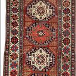 Shahsavan rug, Northwest Persia, 19th century.
