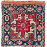 Shahsavan Bag Half, South East Caucasus, Moghan region, first half 19th century. Rippon Boswell, Wiesbaden, 3 December, lot 181, 57 x 55 cm (118 x 55 cm)estimate €5,500.00