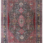 Kirman rug, Persia, 19th century. Franco Dell'Orto