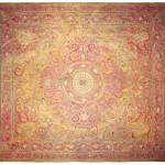 Deccani floor spread embroidered in silk and metal thread, c. 1750. Peta Smyth
