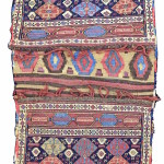 Comeplete shahsevan sumak bags, 19th C (1st half), Caucasus.  Collection of Mr. and Mrs. Wendell Swan. On show in Artful Weavings, Peter Pap at San Francisco Tribal Art Show, Fort Mason, 9-12/02/17, then at Peter Pap Gallery 15/02-10/03/17.
