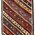 Luri Kilim. Lot 227. South West Persia, Fars province. 260 x 145 cm. First half 19th century. Estimate €2,000.00 - 2,500.