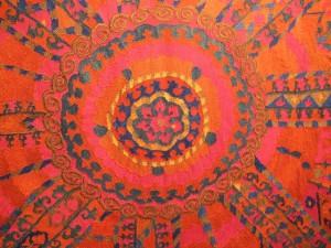 Lot 207, Bukhara large medallion suzani, €56,580