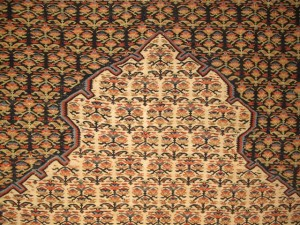Lot 232. Sehna prayer kilim, €10,455