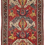 Dragon Sumakh.  Lot 262. East Caucasus, Khanate of Kuba. 310 x 190 cm. Ca. 1800 Estimate €10,000 - 13,000.