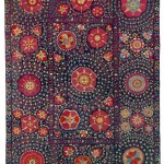Karshi Suzani. Lot 260. Central Asia, South West Uzbekistan. 263 x 195 cm. Ca. 1750 – 1800. Estimate €30,000 - 35,000