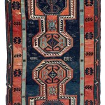 Davaghin Kilim.  Lot 241.  North East Caucasus, Daghestan. 511 x 160 cm.  Late 19th century. Estimate €6,000.00 - 8,000.