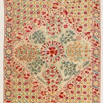 Bukhara Suzani. Lot 268. Central Asia, South West Uzbekistan. 222 x 165 cm . Ca. 1800. Estimate €22,000 - 26,000
